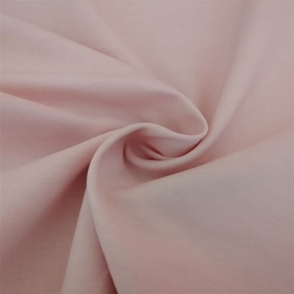 Hotel bedding set sheet covers flame retardant pink fabric