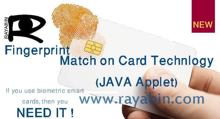 Biometric Match on Card - MoC- JAVA applets