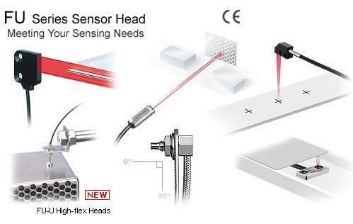 keyence FU series sensor head
