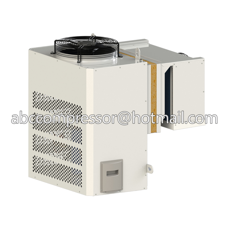 Cold room refrigeration unit with R404a hermetic refrigeration compressor for mini cold roo
