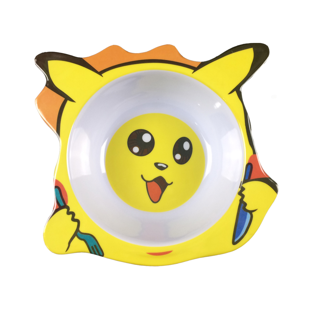 Animal shape melamine kid bowl