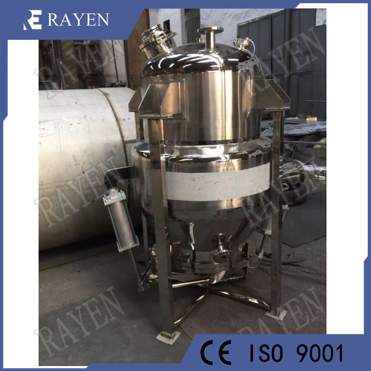 Stainless steel concentration extractor tank