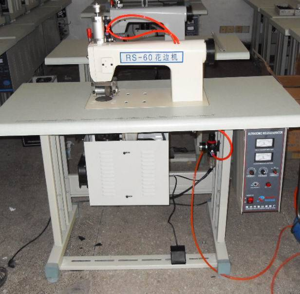 Alibaba recommend 15khz 60mm-200mm ultrasonic lace machine