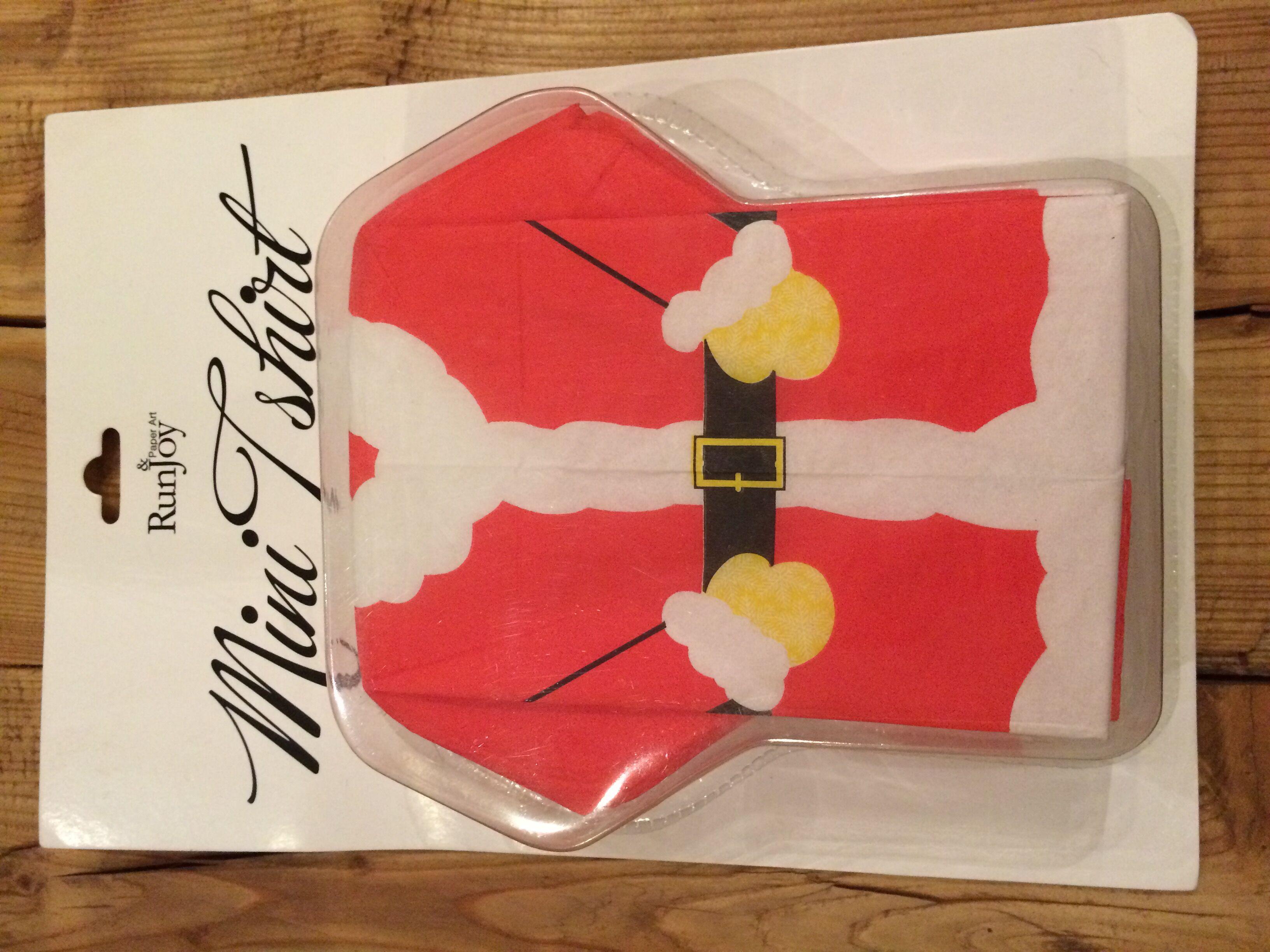 Christmas T-Shirt Napkin
