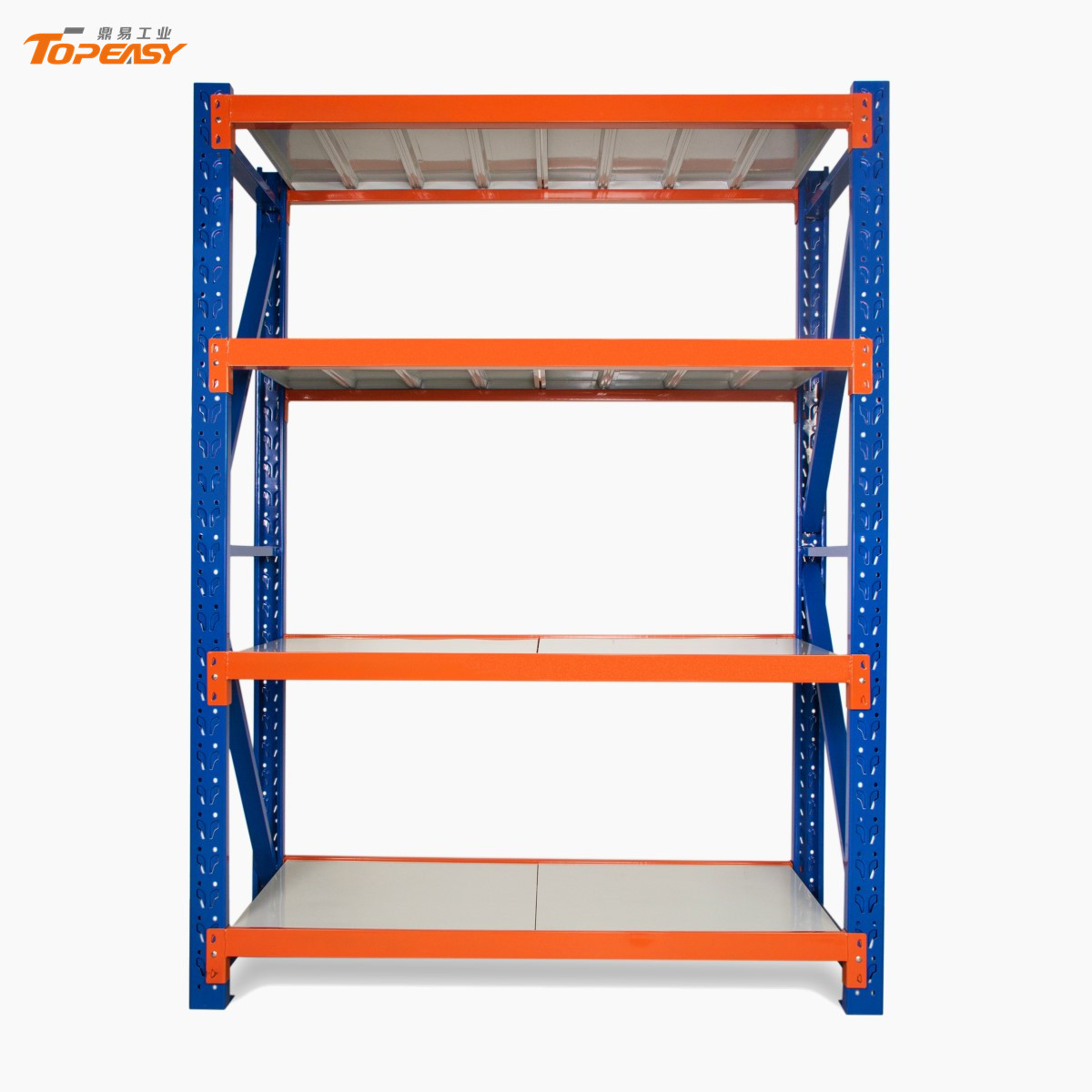 Medium Duty Warehouse Storage Metal Shelf Rack