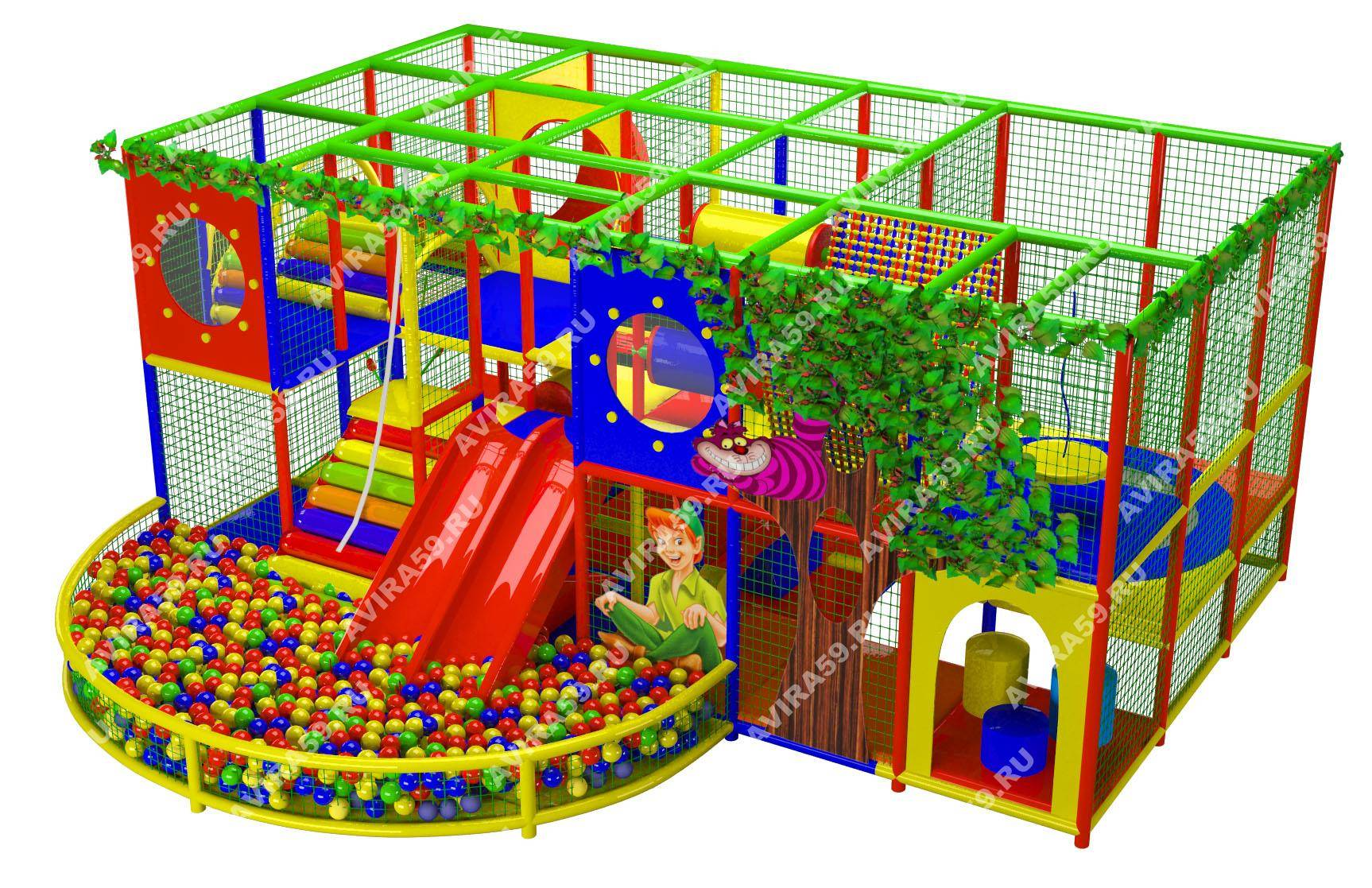 Indoor playground Entertainment world