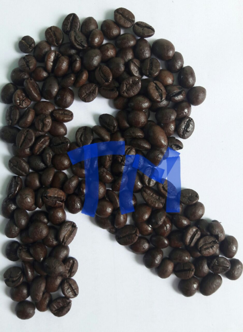 AA grade roasted robusta coffee beans