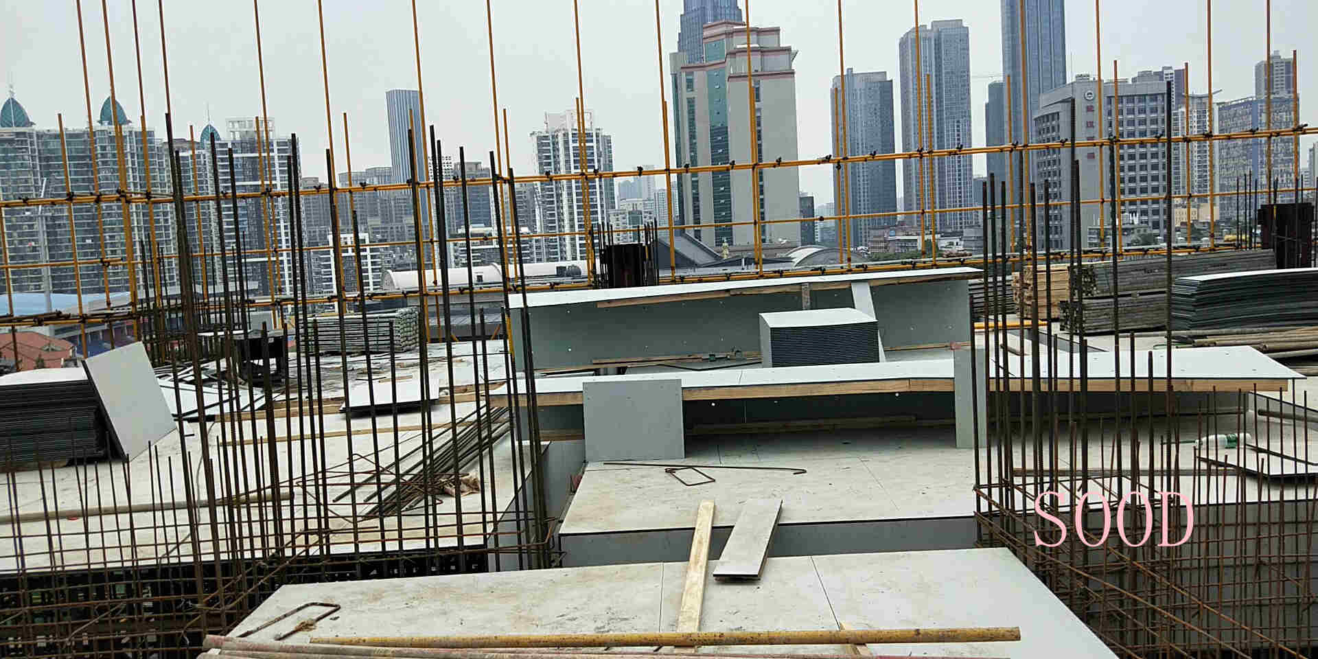 High Reuse Construction Plastic Formwork for Concrete Panel
