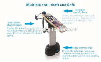 Charge security alarm mobile phone security display stand