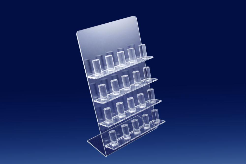 Factory Customized Size Clear Acrylic Jewelry Display Rack