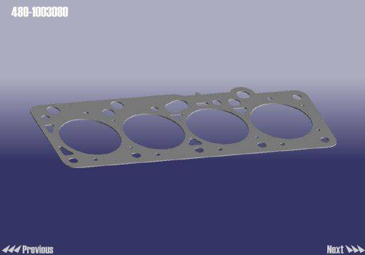 Chery/JAC auto parts-Gasket cylinder head