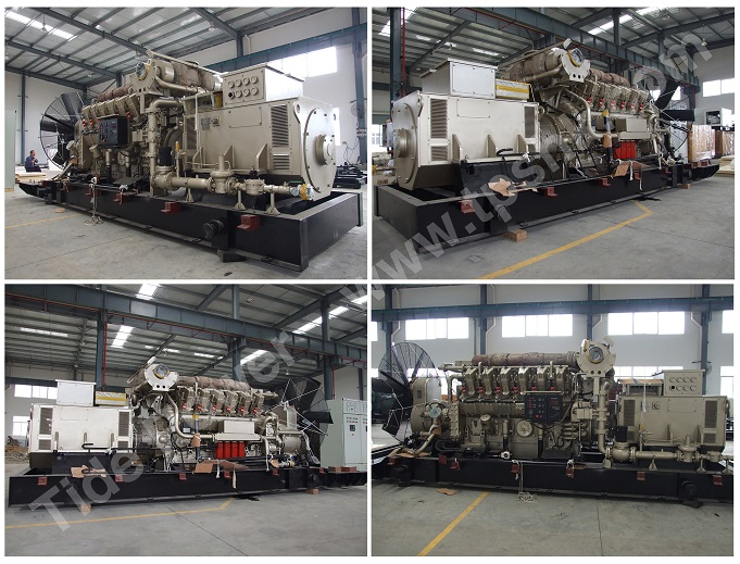 Tide Power System gas generator set TPS gas genset
