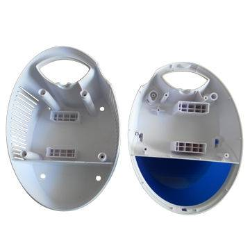 Humidifiers cover with two shot molding and double injection