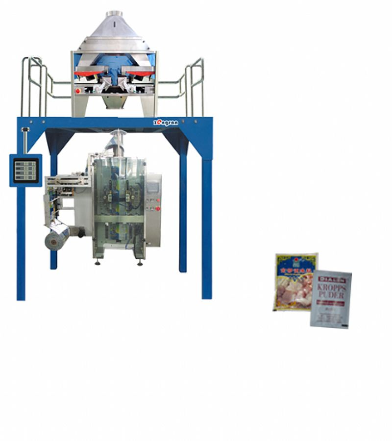 Four-Side-Seal Bag Packaging Machine (VFSS540)