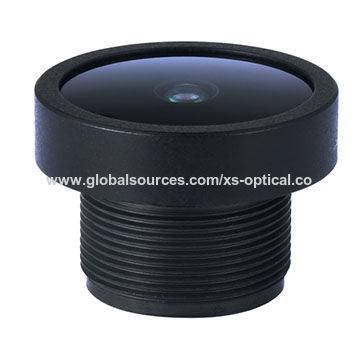 "F2.0 Board Lens, 1/2.7"", 3.0mm, FOV 150-degree M12"