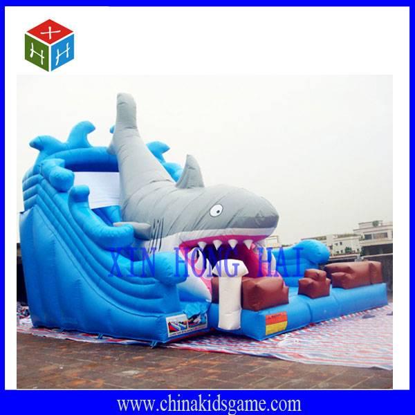 KI-XHH2029 High quality shark fish jump castle