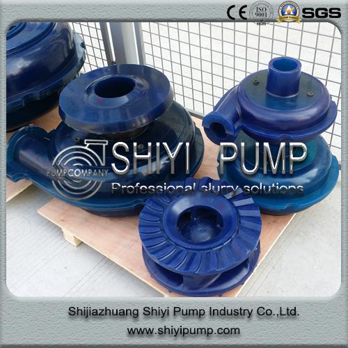Centrifugal Slurry Water Treatment Anti-Corrosion Copper Mine Slurry Pump Spare Parts