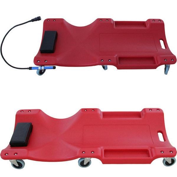 "40"" Garage Mechanic Plastic Composite Creeper Auto Car Repair Bed Automotive Maintenance Tool"