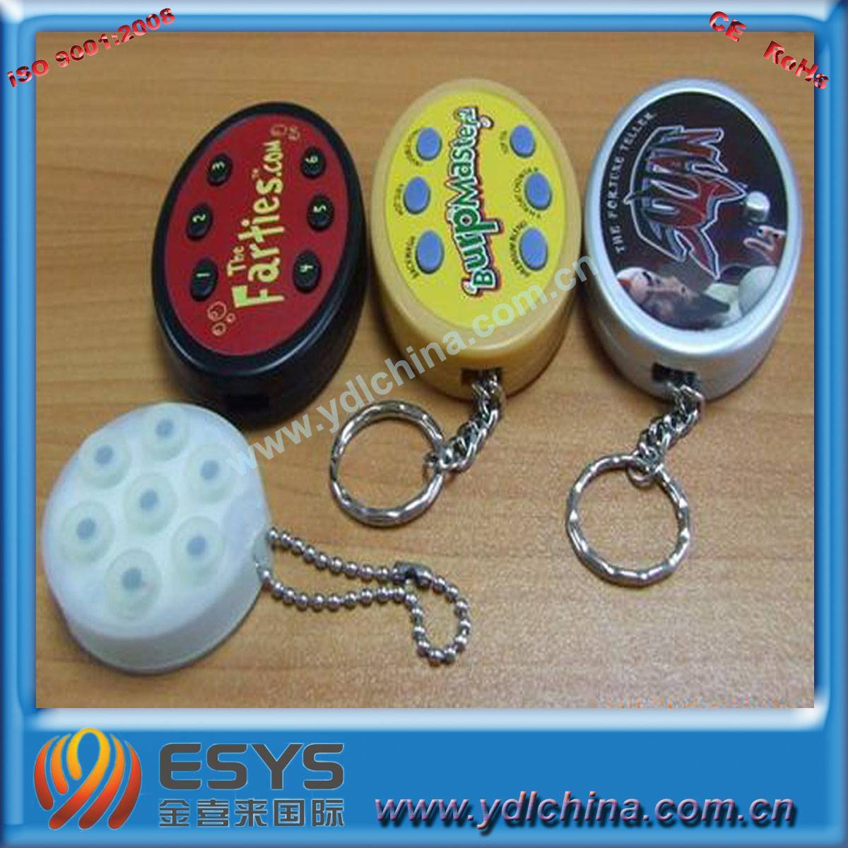 sound keychain/musical keychain/talking keychain