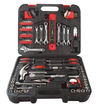 119PC Kraftwelle Hand Tool Set with Combination Tool