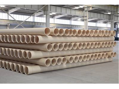 UPVC double wall corrugated pipe