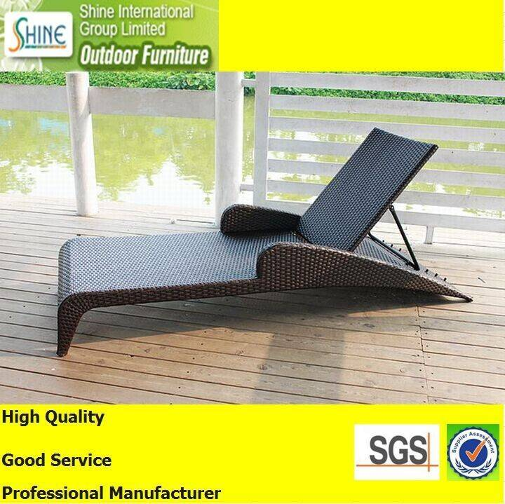 2015 New Rattan Beach Chair for Sun lounge SFM3150727-03