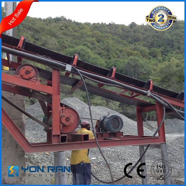 CE ISO certificate nylon rubber belt conveyor of large transfer quantity in quarry