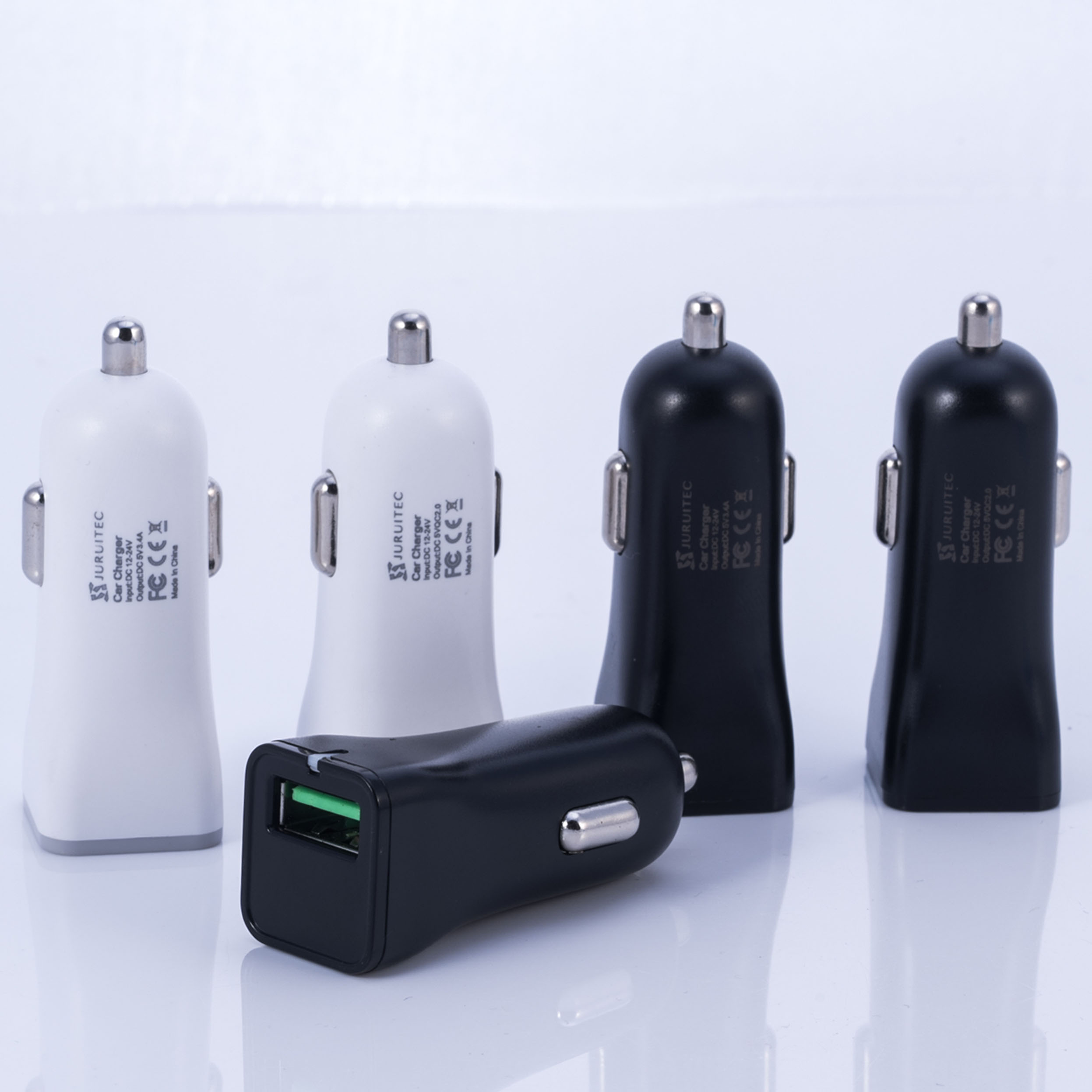 ABS Car Charger QC 2.0