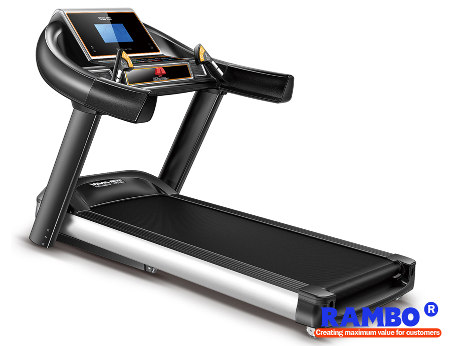 "RB-702S 7"" LED Blue Screen Single Function with Ascension Treadmill"