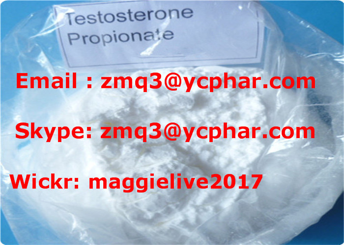 99% Purity Testosterone Propionate Steroid Powder for Bodybuilding