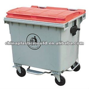 New model multi-color waste container for outdoor