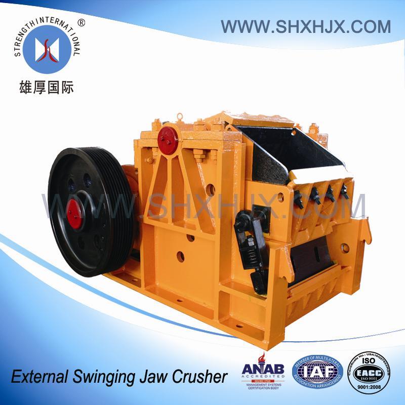 Mining Low Type External Swinging Jaw Crusher
