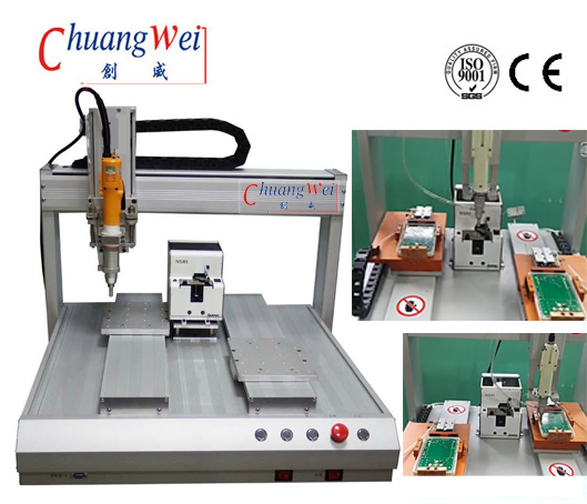 China Screw Tightening Machine with 6 Axis,CWAS
