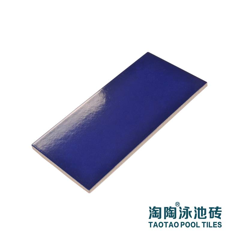 blue color non-slip tiles for gym swimming pool wall area