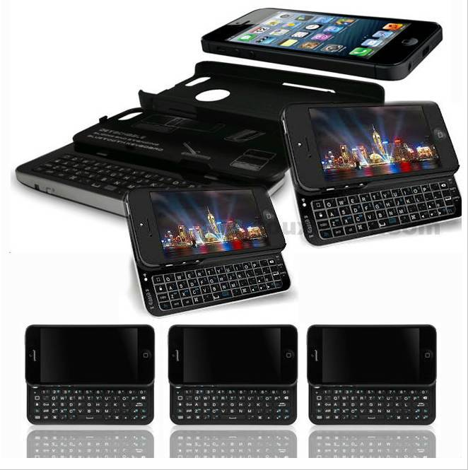 For iphone 5 Bluetooth Sliding Keyboard