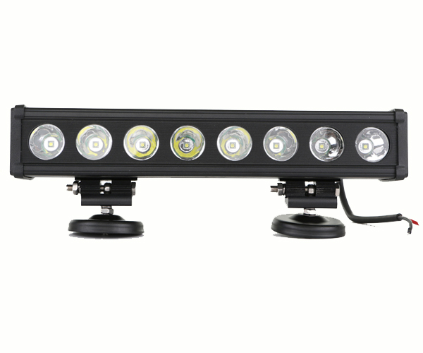4x4 Single Row high power work light bar headlight CREES 80W 4WD LED headlamp DRL driving for JEEP