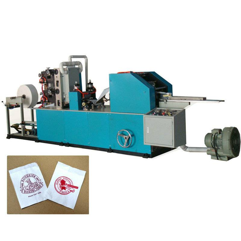 Full automatic L fold dispenser napkin paper machine