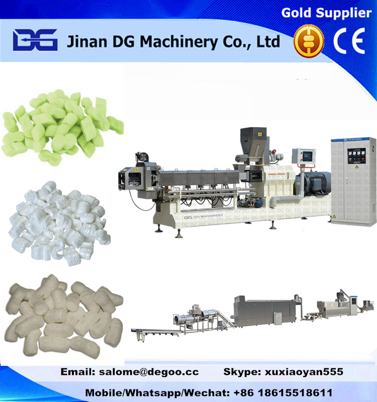 Starch based Biodegradable loose packing filled material making machine production line