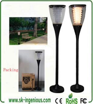 Wholesale Ip65 Waterproof Warm White Led Solar Light Garden Lamp