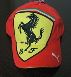 Brushed Cotton Twill Racing Cap