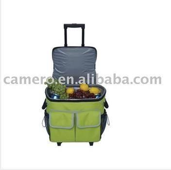 50 Cans Cooler Trolley Bag For Kids