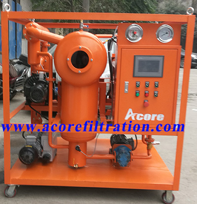 Vacuum Transformer Oil Degassing Process Plant For Sale