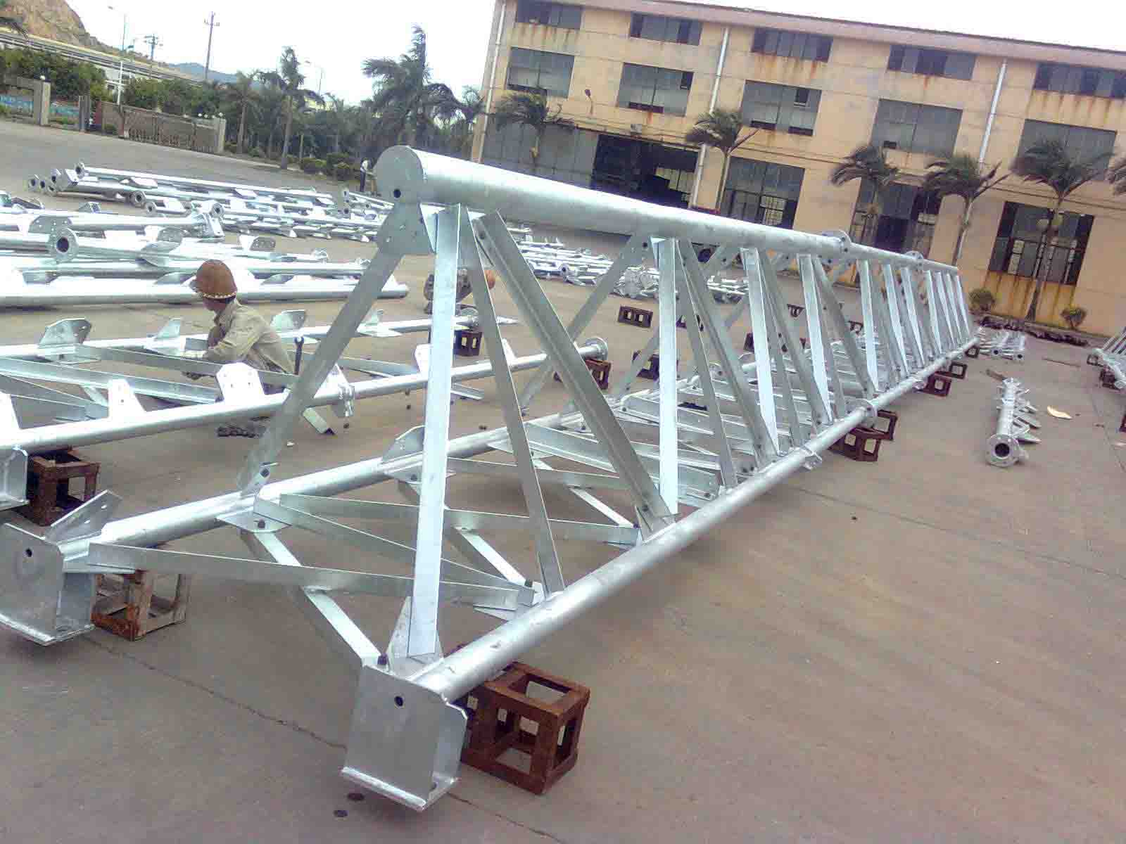Self-support three-leg Tubular and Angle Steel Tower