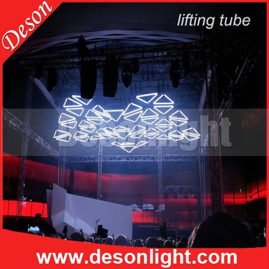 3pcs lift machine and 3pcs LED light pipe
