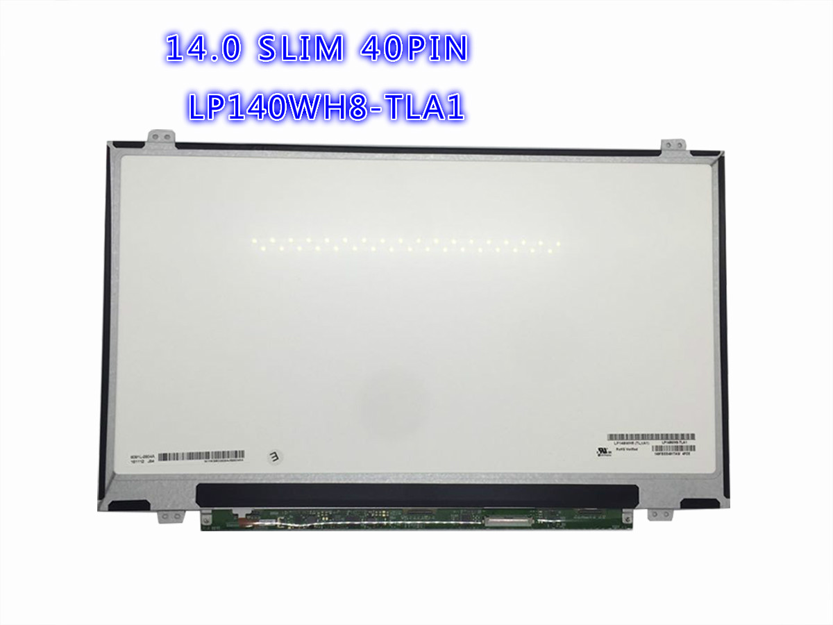 laptop lcd screen distributor LP140WH8-TLA1 14.0 inch laptop slim lcd
