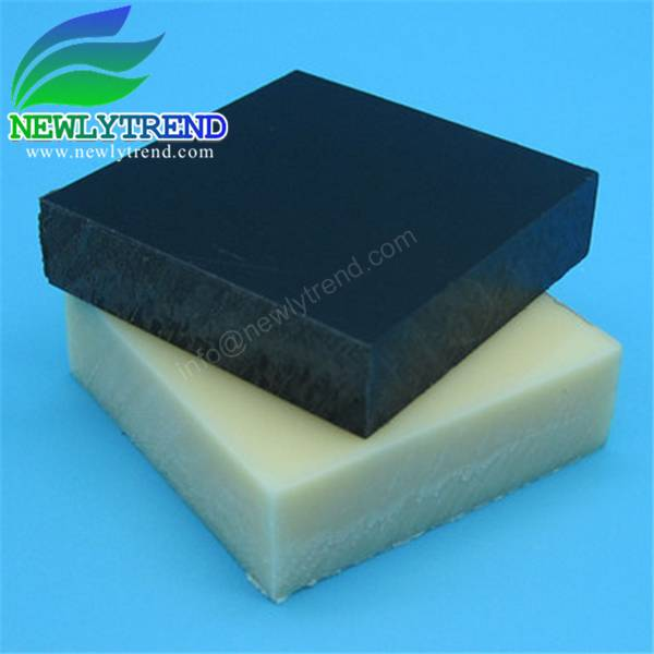 1-200mm thickness Black ABS Plastic Sheet