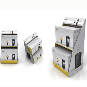 Mobile cardboard display
