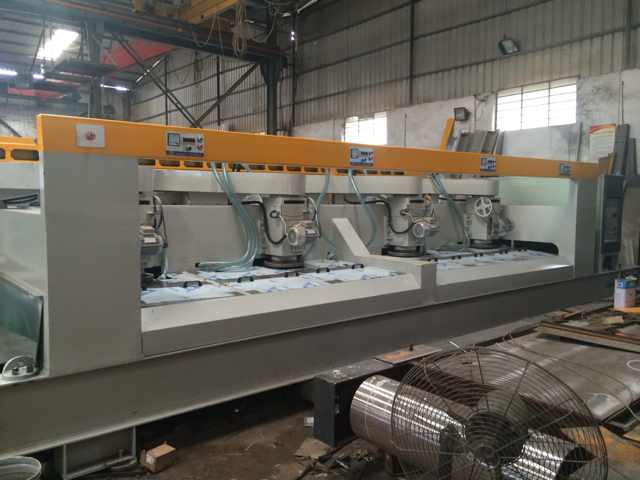 LDD-800/2000 Multi-heads Automatic Stone Calibrating Machine