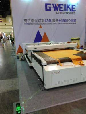 LC1830 auto feeding laser cutter for fabric