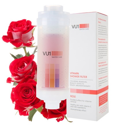 Vitamin Shower Filter - Rose Fragrance